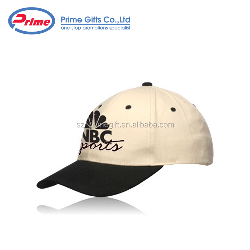 Custom 100% Cotton 6 Panel Constructed Baseball Cap with Your Owner design