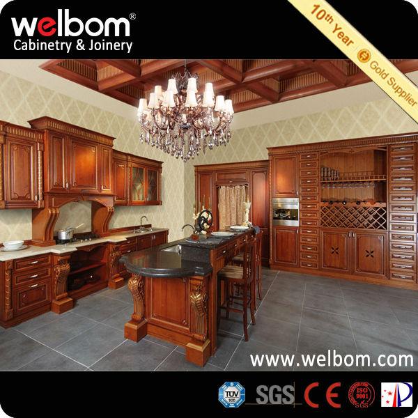 Madera Muebles de Cocina Gabinete de Cocina Muebles de Buena Calidad ...