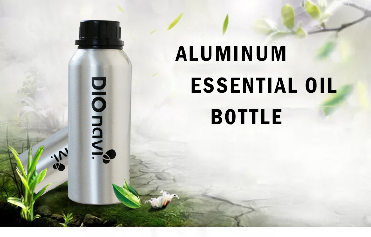custom empty aluminum oil bottle 100ml for fuel additive