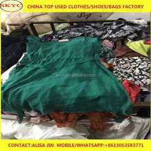 hot sale products for Nigeria importers high quality summer used clothing bales 100kg
