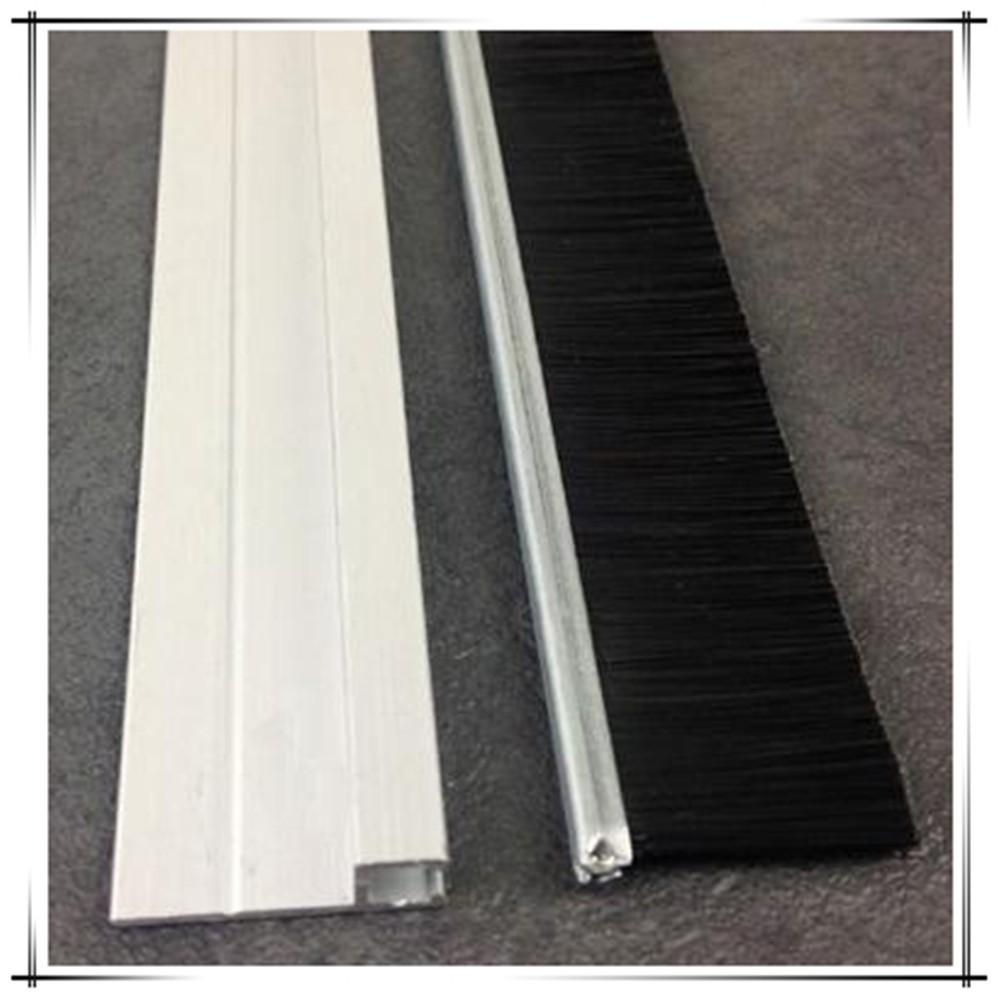 Bottom Door Seal Brush Brushed Aluminum Strips Buy