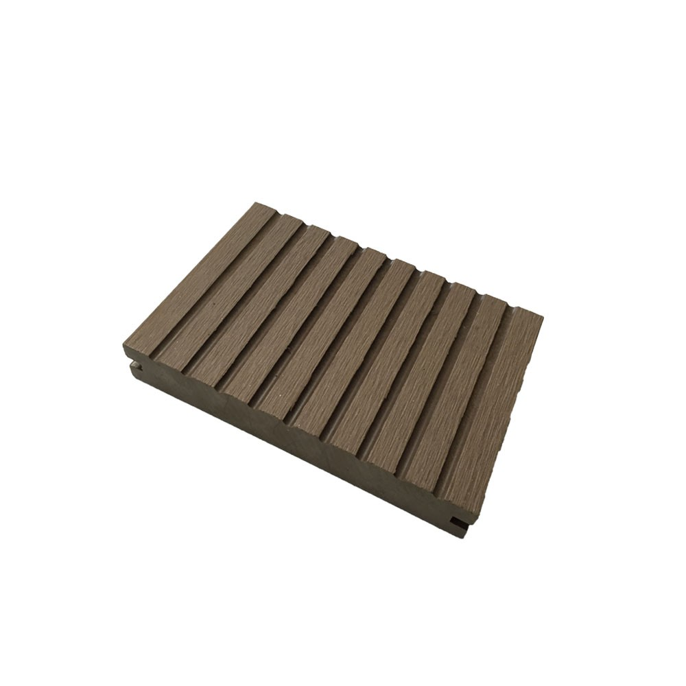 Wood textured pvc outdoor plastic composite decking buy for Plastic composite decking