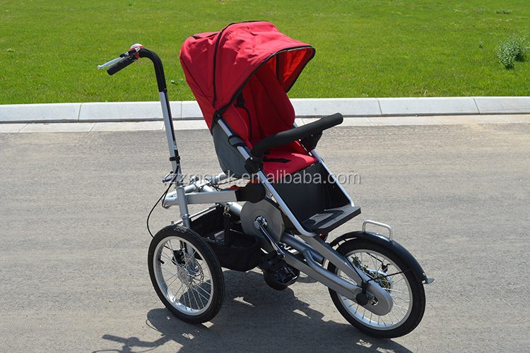 Single And Double Children Folding Bicycle Stroller - Buy Single ...