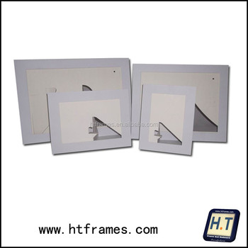 White Paper Picture Frame 4x6 5x7 8x10 A4 - Buy Paper Picture Frame ...