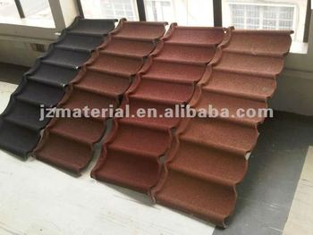 Anti Fade Colorful Stone Coated Metal Roof Tile Harvey