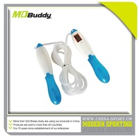 PVC bounce MD buddy calorie counter jump rope with bearing