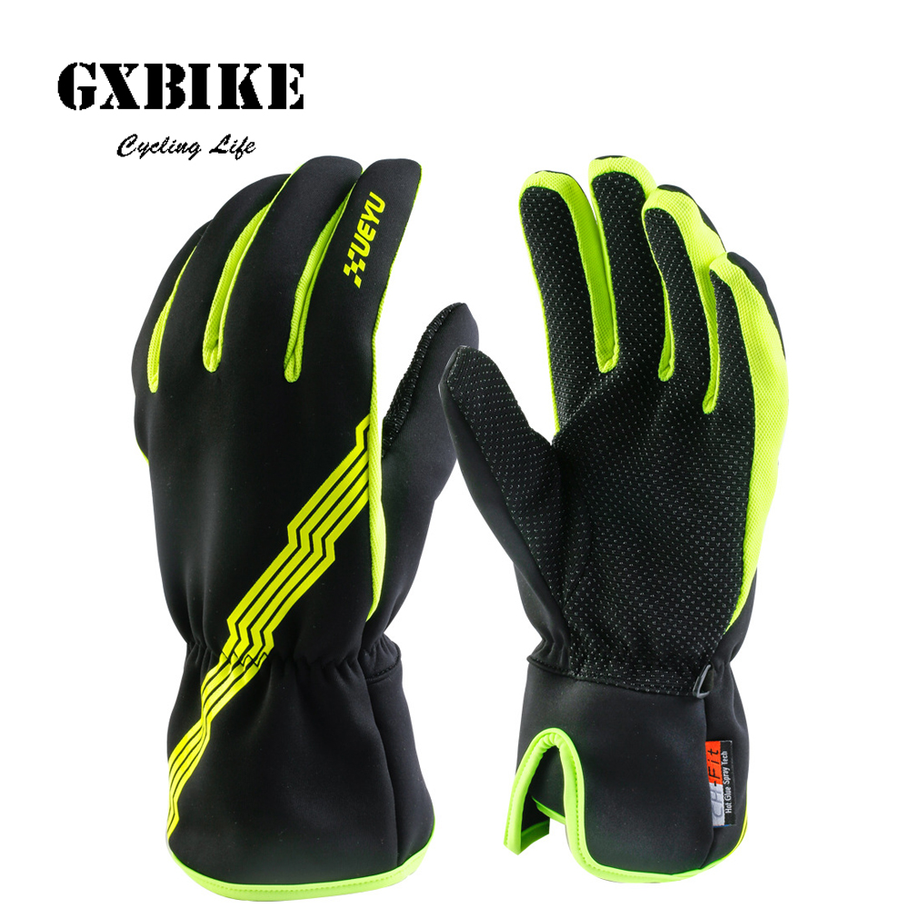 Mens Waterproof Thinsulate Winter Warm Outdoor Ski Gloves