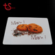 Wholesale square plastic pp clear under table mat and coaster placemat sets
