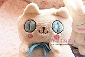 Bed Creative cute blanket / cartoon big eyes cat air conditioning leisure blankets / small children blankets , cat eyes.