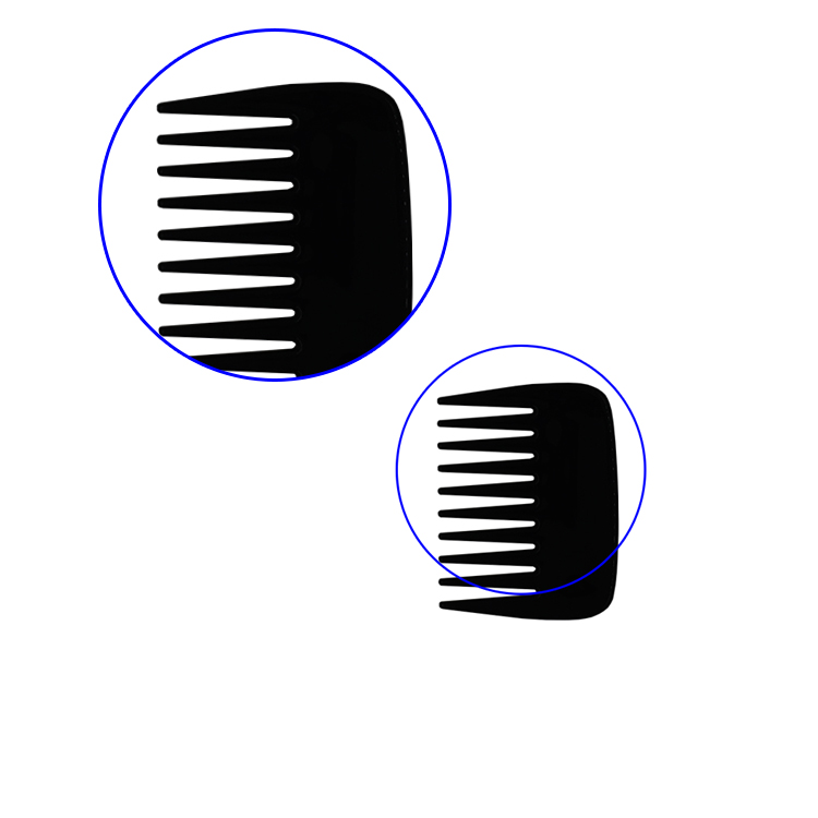 Hot Small Plastic Binding Combs For Beard Shaping