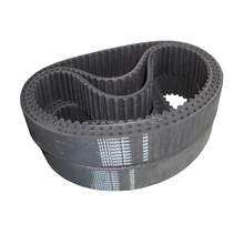 Rubber open end timing belt for 3D printer made in china