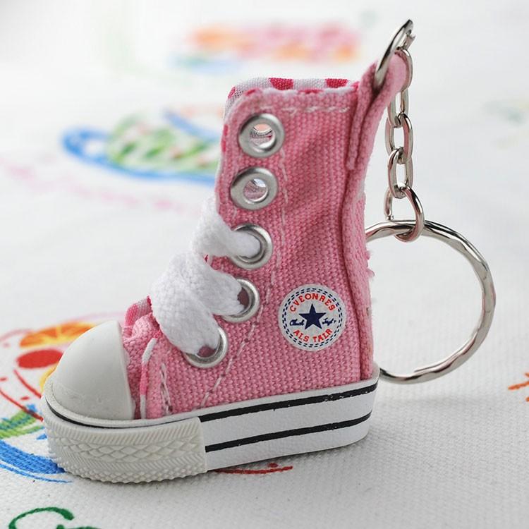 81134086d405ee Personalized Mini Pink Converse Sneaker Keychain - Buy Sneaker ...