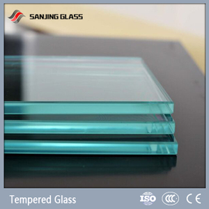 High quality 10mm price per square meter of tempered glass
