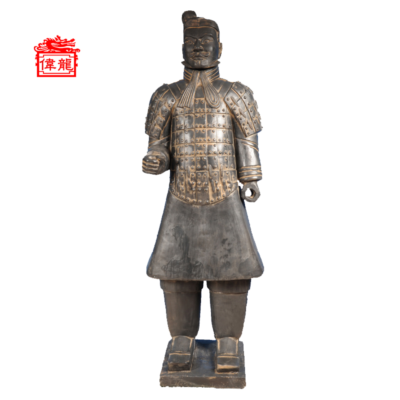 Clay craft life size the terracotta army terracotta soldiers YHT190-3