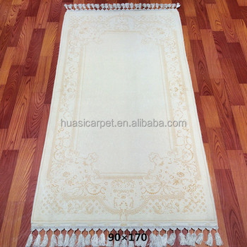 Handmade Dubai Prayer Mat Wool Slk Carpet Rugs Online In China Factory