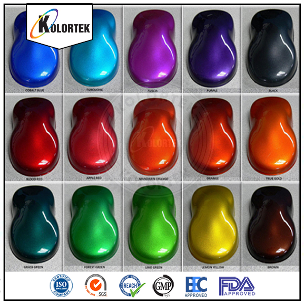 Factory Price Car Candy Paint Powder Coating Pigment Car