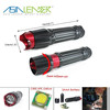 3 AAA or 18650 Battery Powered 3 Lighting Modes Aluminum Cree XPE LED Flashlight Tactical