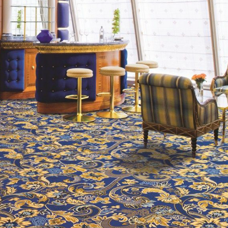 Hotsale Nylon Printed Casino Banquet Hall Wool Carpet For Sale