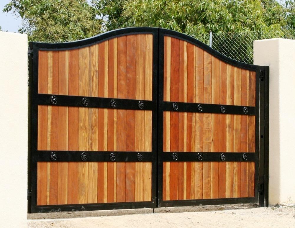 Aluminum Clad Wood Gate