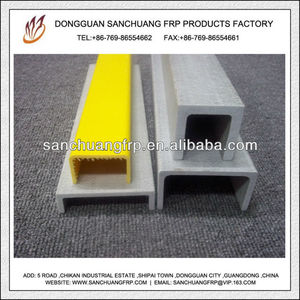 Insulation U Channel FRP Profile Used for Ladder
