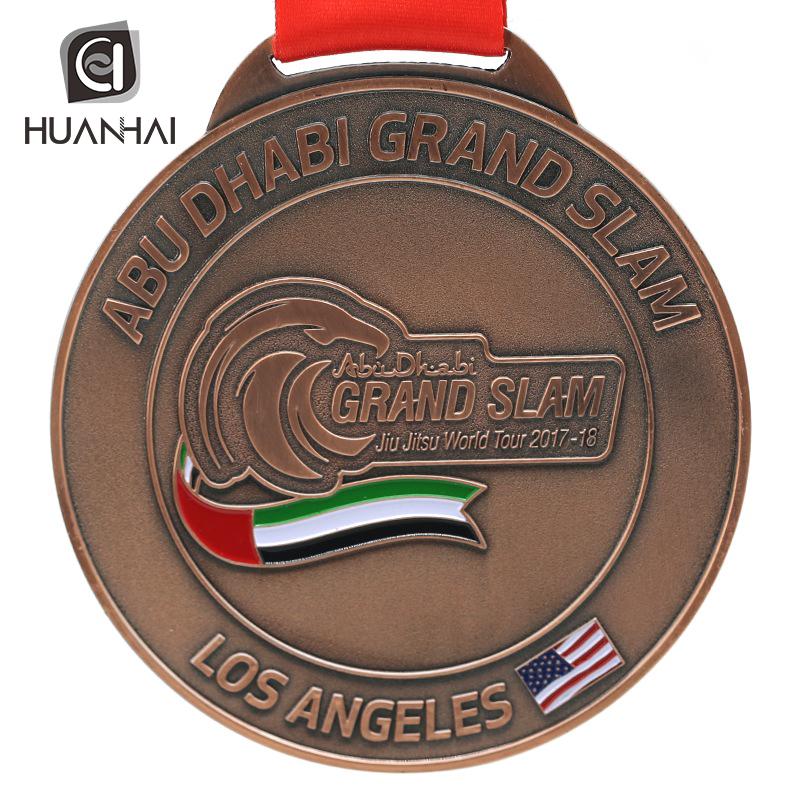 Custom Bulk Uae Jiu Jitsu Federation Metal Award Bjj Medals Competition -  Buy Uae Medal Product on Alibaba com