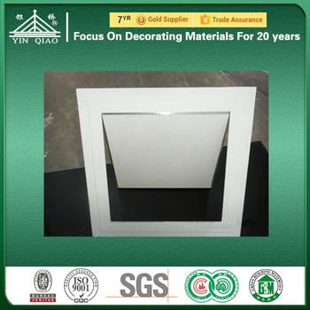 Gypsum Maintenance Door Ceiling Access Cover Panel And Manhole Frame & Gypsum Maintenance Door Ceiling Access Cover Panel And Manhole Frame ...
