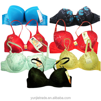 nice mixed cotton ladies bras,ladies cheap bra for africa market