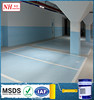 Good abrasion resistance epoxy materials water-based factory floor paint
