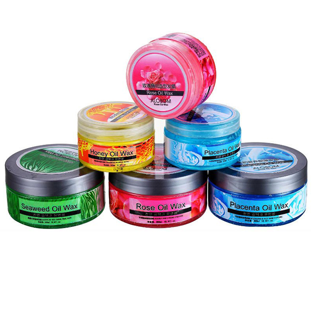 Strong hold hair wax for men hair styling from guangzhou China
