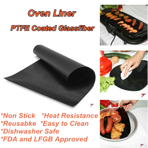 Recommend PTFE Product Dishwasher Safe Non Stick Oven Liner