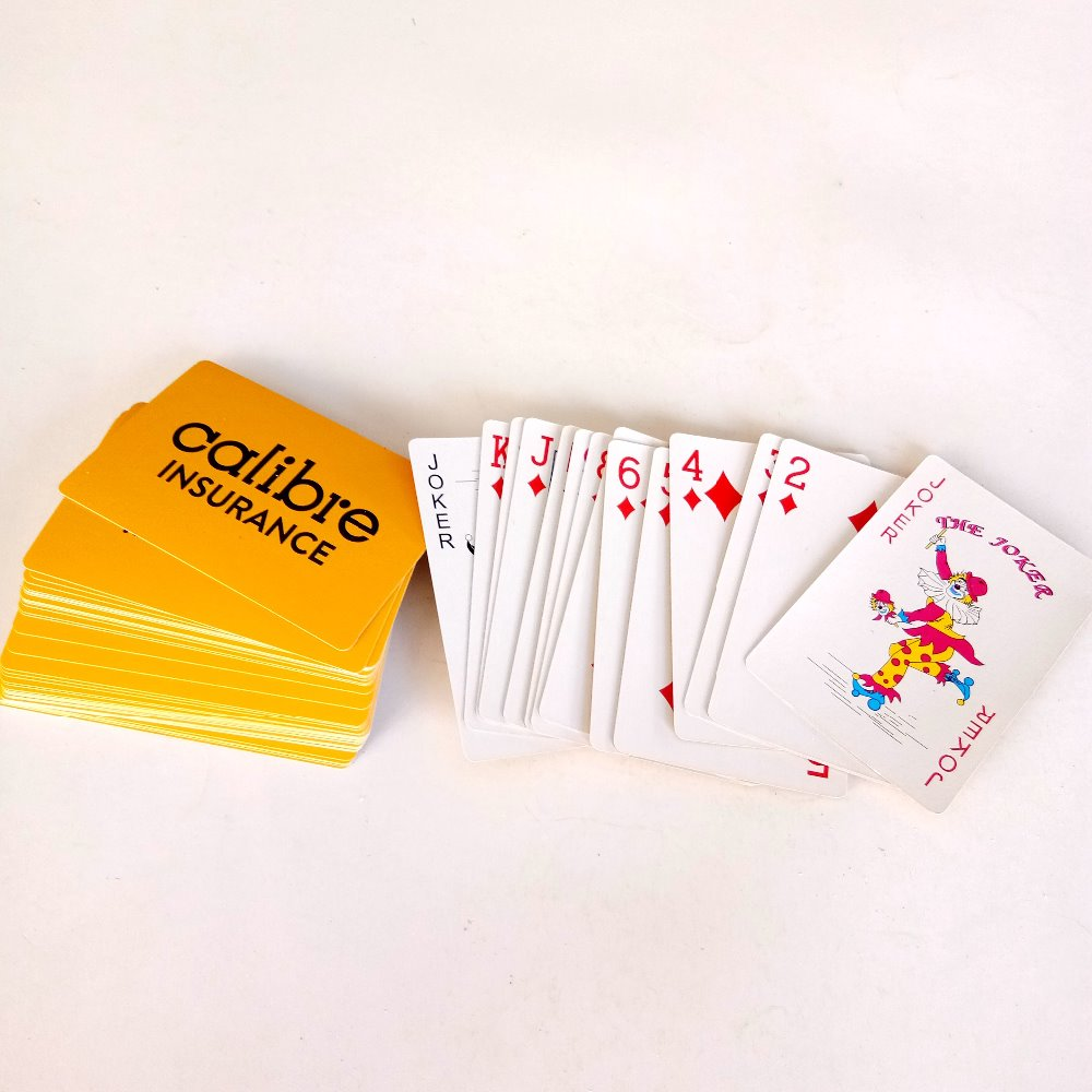 The Best Product Playing Cards China Supplier Custom Printing Photo Paper Poker Playing Card Game for Free Fun Toys