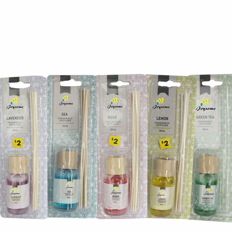 30ml freshen aroma scented, glass bottle , reed diffuser