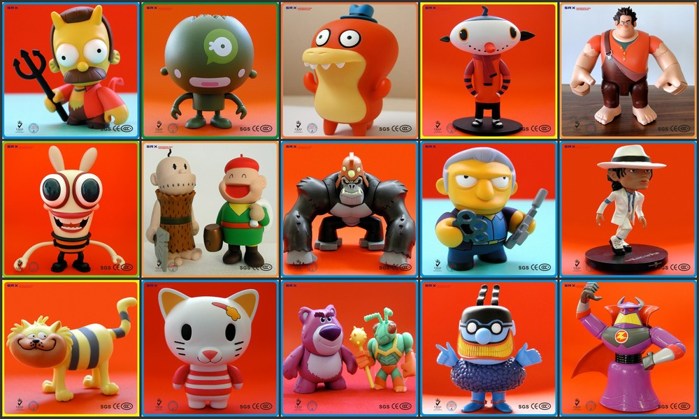 Promotional Fancy Boys Customized Cartoon Vinyl Toys
