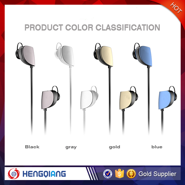 Fashion design colorful mobile phone wireless headphone bluetooth