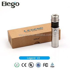 Fast Shipping & Best Price Authentic Sigelei Legend V2 VV/VW 20W Mod in Stock Wholesale