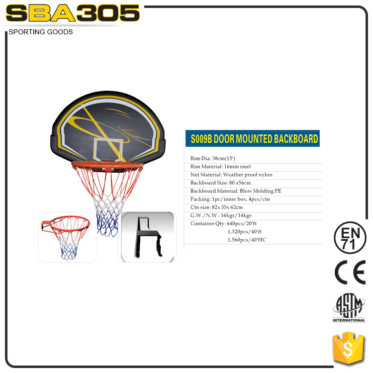 factory price sports goods mini basketball hoop set