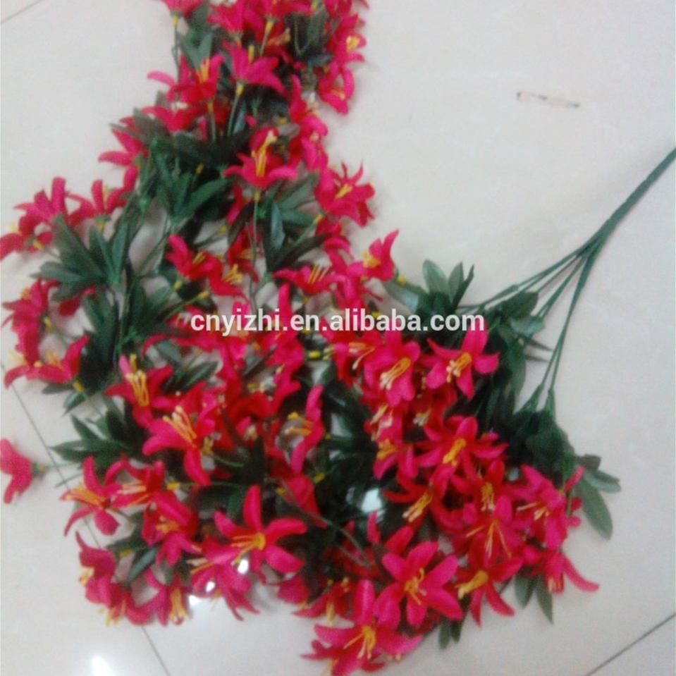 Wholesale Decorative Flowerimport China Silk Flowersfiber Optic