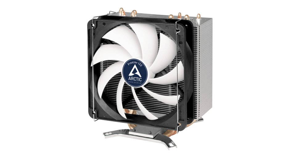 ARCTIC Freezer i32 - CPU Cooler with 120 mm PWM Fan for Intel with New Fan Controller Made in Germany and PWM Sharing Technology (PST)