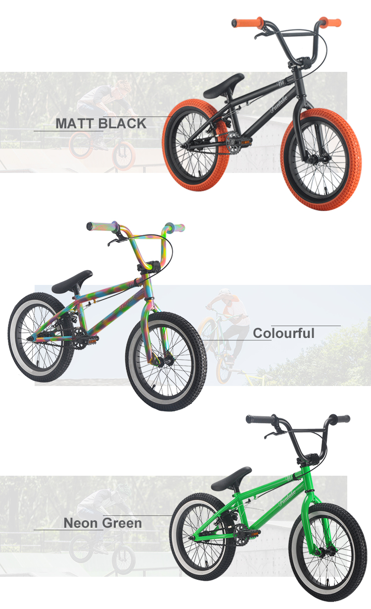 OEM customized logo 16inch extreme sports bicycle halfpipe street bike freestyle dirt jump bikes bmx with high quality