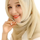 2018 Women Pleated Arab Muslim Hijab Scarf