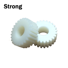 Customized toothed wheel small plastic double spur gear