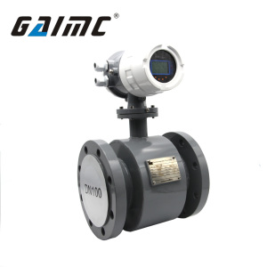 GMF100 Mag chemical liquid sulfuric acid flow meter calibrator