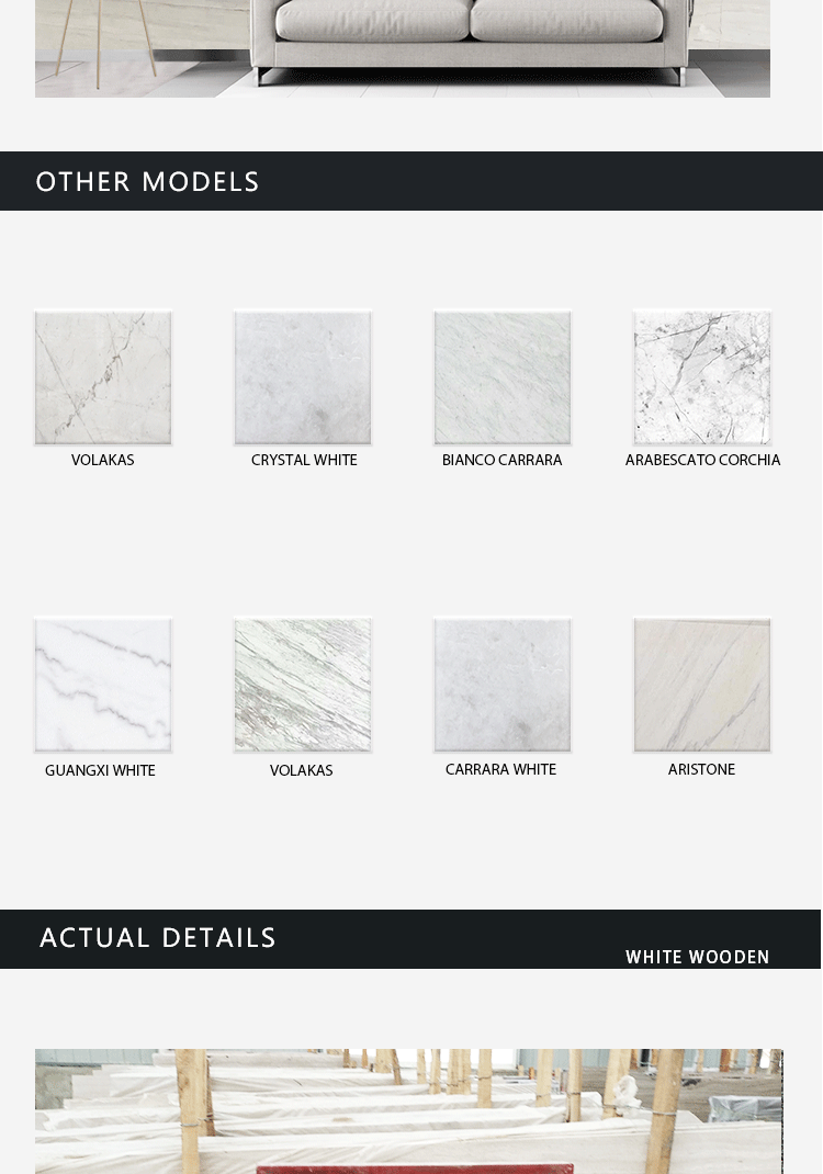 Manufacturer Best Quality Marble Slab, Cheap Price Chinese 2cm Marble Slabs/