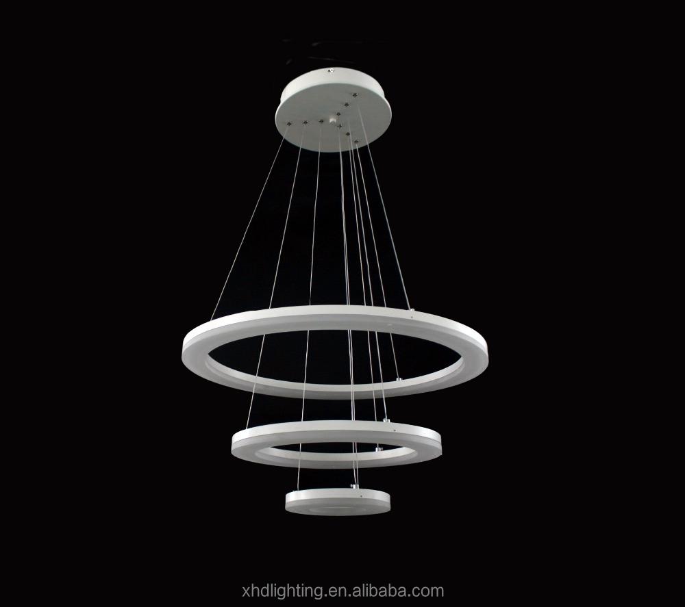 Best Sale Modern Led Acrylic Ring Chandelier Pendant Lamp