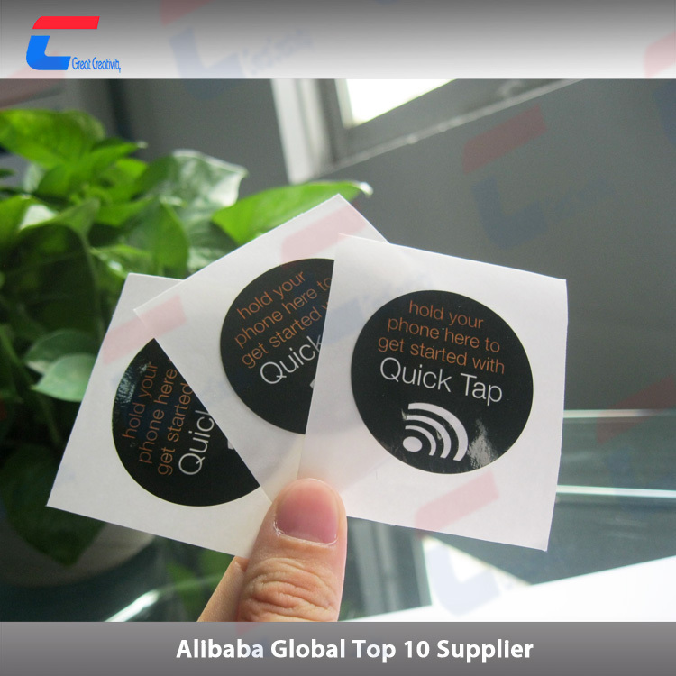 2017 high quality paper MIFARE DESFire EV1 8k label tag