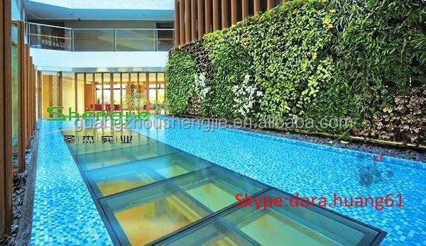 Sjh082029 buatan hijau dinding dalam ruangan vertikal for Dekorasi pool party