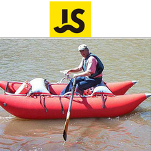 Hand made Inflatable Pontoon Boat For Fishing