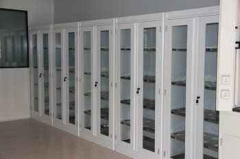 Superieur All Steel Lab Storage Cabinets, Utensil Cupboard