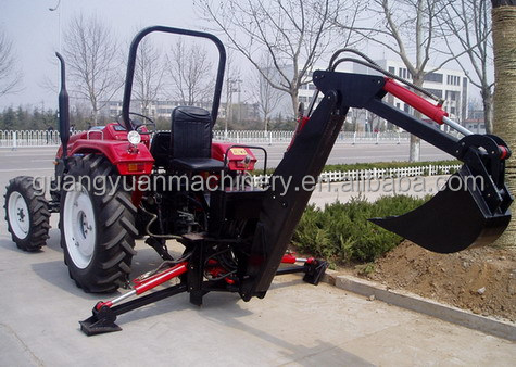 3 point hitch backhoe attachment for trator