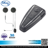 500m Motorcycle BT Bluetooth Multi Interphone Headset Helmet Intercom FM